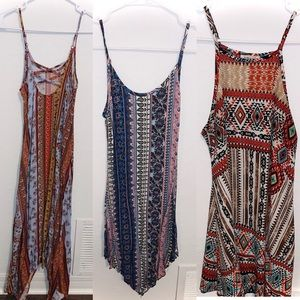 Bundle of 3 Small Strappy Dresses